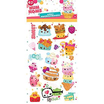 Standard Stickers 4 sheet - Num Noms New st4036