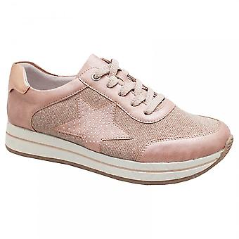 Remonte Rose Casual Lace Up Trainer