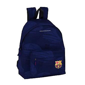 Safta F.c. Barcelona Casual Backpack - 42 cm - Blue (Azul)