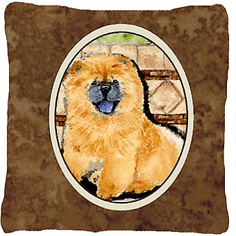 Chow Chow Decorative   Canvas Fabric Pillow