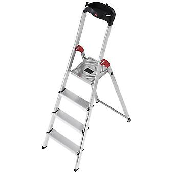 Hailo Aluminum ladder L60 Easyclix (7 Steps) (DIY , Tools , Stairs and stools)