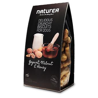 Naturea Biscuits Yogurt, Wallnut & Honey (Dogs , Treats , Hypoallergenic , Biscuits)