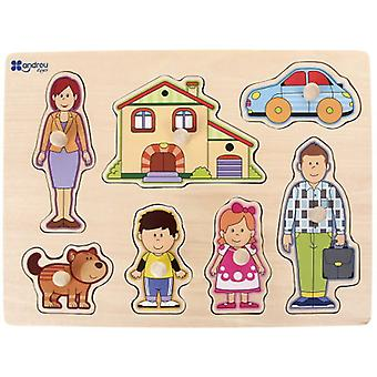 Andreu Toys Lace - Family (Toys , Preschool , Puzzles And Blocs)