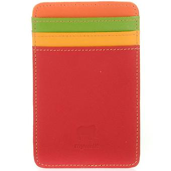 Mywalit Red Leather Credit Card Holder