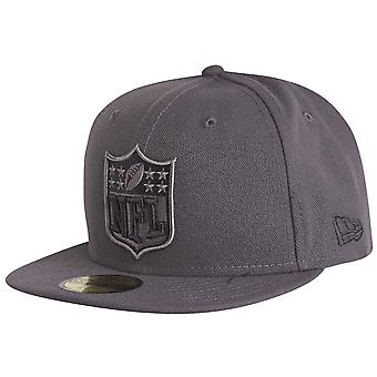 New era 59Fifty Fitted Cap - GRAPHITE NFL logo grey