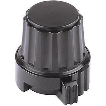 Mentor 4332.6030 Plastic Locking Knob, No Markings, Collet Fixing, ABS