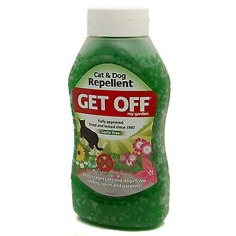 Get Off My Garden Cat & Dog Repellent Scatter Crystals 640g (Pack of 6)