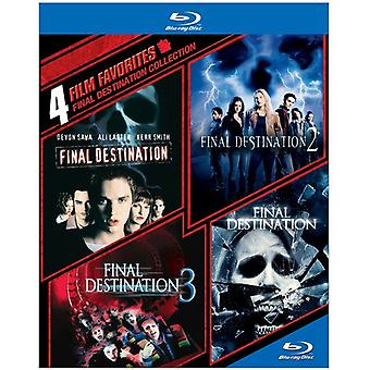 4 Film Favorites: Final Destination Collection [BLU-RAY] USA import