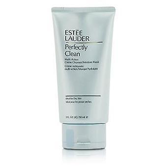 Estee Lauder Perfectly Clean Multi-Action Creme Cleanser/ Moisture Mask - 150ml/5oz