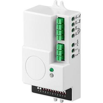 Recess-mount HF motion detector Goobay 71367 360 ° Relay White IP20
