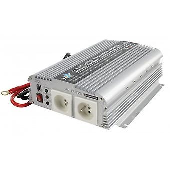 HQ Power Inverter gemodificeerde sinus golf 12 VDC-AC 230 V 1000 W Frans