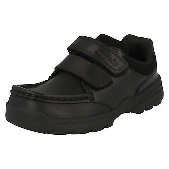 Jungen Clarks Leder Schuhe - Zayden Go Jr.