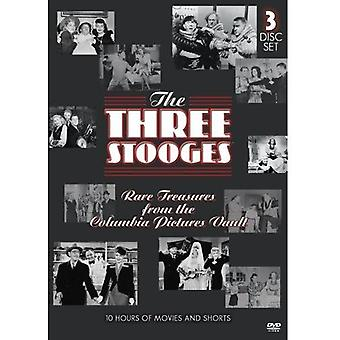 Three Stooges - Rare Treasures From the Columbia Pictures Vault [DVD] USA import