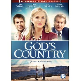 Guds land [DVD] USA importerer