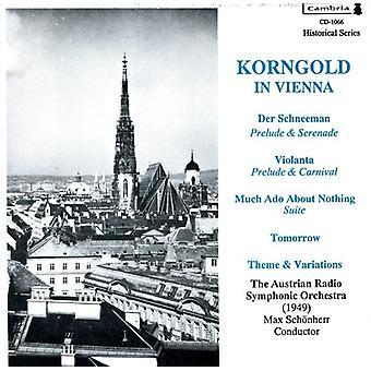 E.W. Korngold - Korngold in Vienna [CD] USA import