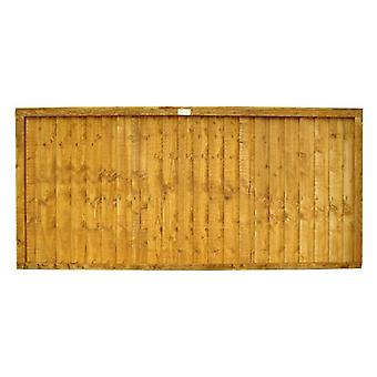 Forest Garden 3ft Closeboard Fence Panel