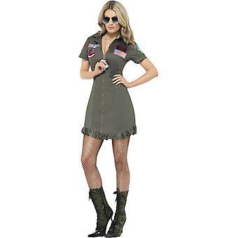 Top Gun Deluxe Damen Kostüm
