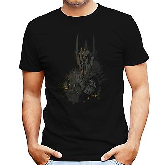 The Dark Lord Sauron The One Ring Lord Of The Rings Men's T-Shirt