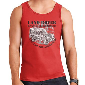 Haynes Owners Workshop Manual Land Rover Adventure Black Men's Vest