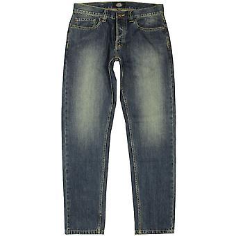 Dickies North Carolina men's regular fit tapered jean antique wash