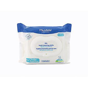 Mustela Mustela Facial Wipes 25 (Children , Cosmetics , Body lotions)