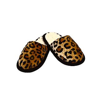 Slippers in a Cheetah look - 40/41