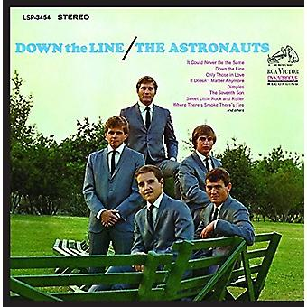 Astronauts - Down the Line [CD] USA import