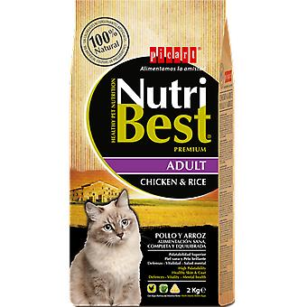 Picart NutriBest Cat Chicken and Rice (Cats , Cat Food , Dry Food)