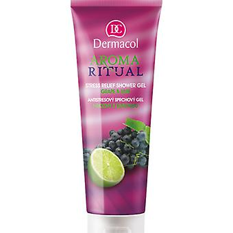 Dermacol  Gel Douche Rituel Aroma - Grape & Lime