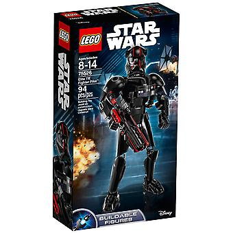 Lego Constraction Star Wars Piloto De Elite Tie Fighter 75526