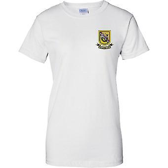 1 forças especiais Regiment - Airborne 39th forças especiais Det - senhoras peito Design t-shirt