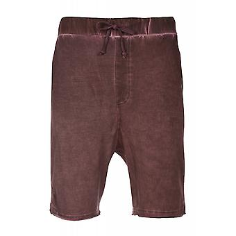 JUNK YARD Palma shorts men's leisure shorts purple worn look