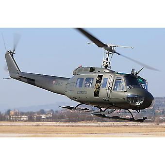 Итальянская армия AB-205 вертолет, взлетавший печать плаката, Даниэле FaccioliStocktrek изображения