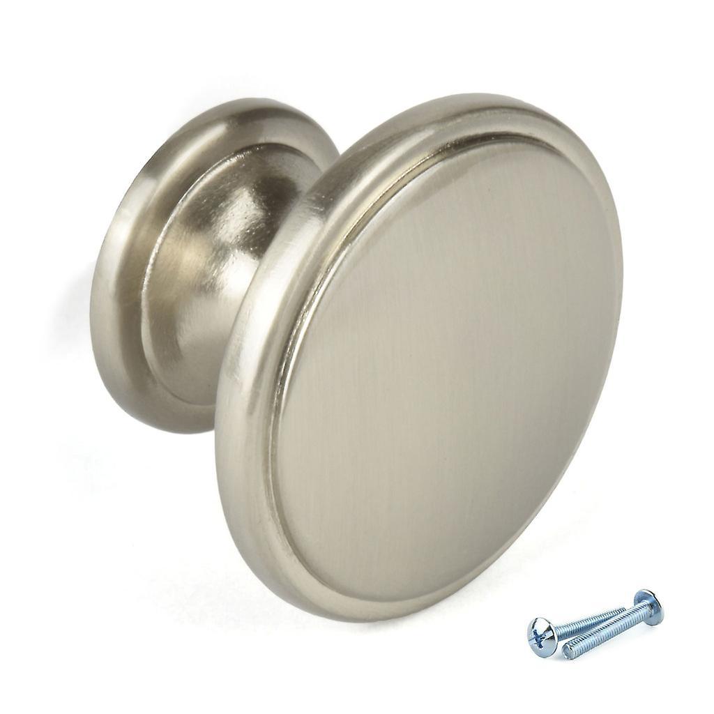 M4TEC Interior Kitchen Cabinet Door Knobs Cupboards Drawers Bedroom Furniture Pull Handles Nickel. F9 series
