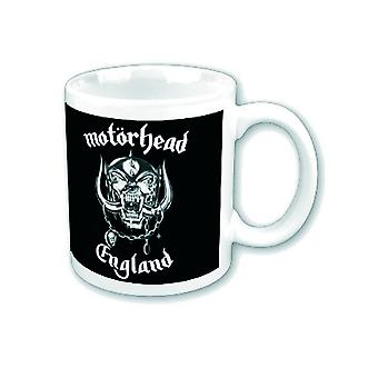 Motorhead Mug lemmy England War Pig new official white Boxed