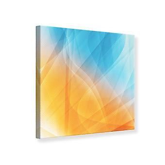 Leinwand abstrakt fließenden Druckfarben
