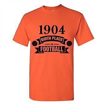 Hull City fødselen av fotball t-skjorte (oransje)