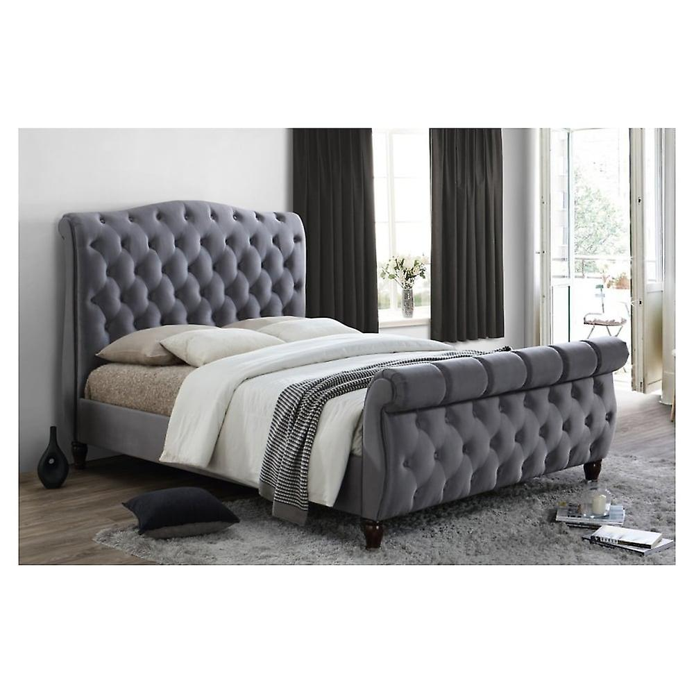 birlea colorado super king size bett in grau fruugo. Black Bedroom Furniture Sets. Home Design Ideas