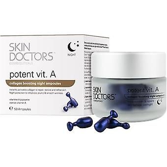 Skin Doctors Potent Vitamin A Night Ampoules