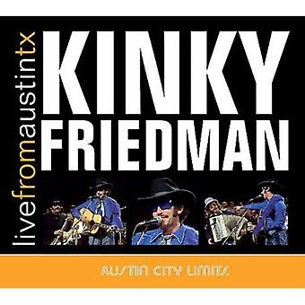 Kinky Friedman - Live From Austin Tx [CD] USA import
