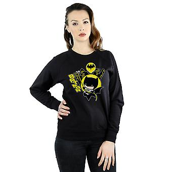 DC Comics Women's Chibi Batman Swinging Sweatshirt