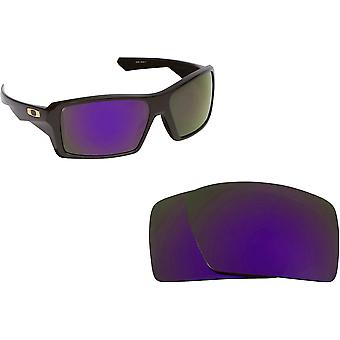 Eyepatch 1 Replacement Lenses Polarized Purple by SEEK fits OAKLEY Sunglasses