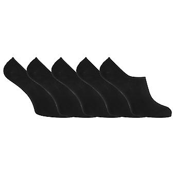 Tom Franks Mens T-Sport Silicone Support Invisible Trainer Socks (5 Pairs)
