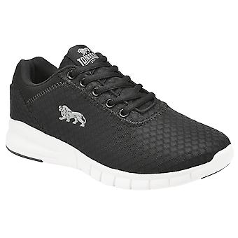 Lonsdale Womens/Ladies Tydro Lace Up Mesh Trainers
