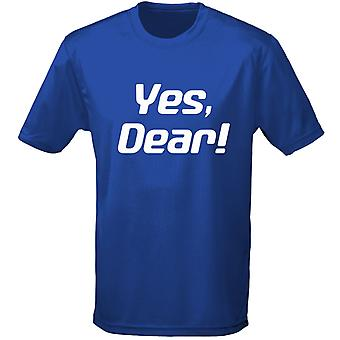 Yes Dear Humour Wife Mens T-Shirt 10 Colours (S-3XL) by swagwear