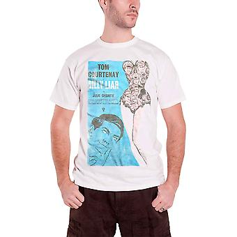 Billy Liar T Shirt Studiocanal Vintage Movie Poster Logo Official Mens New White
