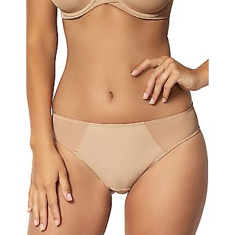 Sans Complexe 609797 Women's Essential Nude Solid Colour Knickers Panty Brief