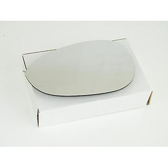 Left Mirror Glass (heated) & Holder for FIAT LINEA 2007-2014