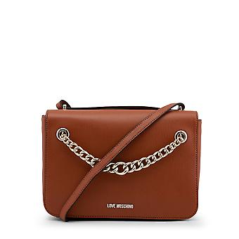 Love Moschino Women Crossbody Bags Brown