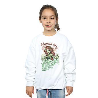 DC Comics meisjes Poison Ivy Paisley Sweatshirt